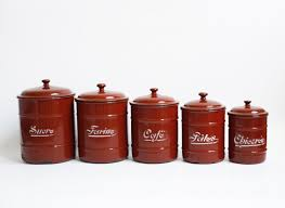French Kitchen Canisters 28 French Canisters Kitchen Set Of Dimpled French Aluminum