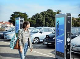 build your own ev charging station volta hubject partner to make it easier to find a free place to