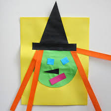 Halloween Crafts For Kindergarten Toddler Approved Witch Shape Craft Inspired By Room On The Broom