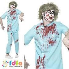 Dentist Halloween Costume Zombie Demon Dentist Halloween Horror Costume Mask U0026 Teeth Mens