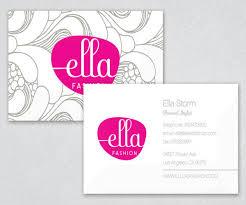 Business Card Fashion Designer Best Fashion Business Cards Backstorysports Com