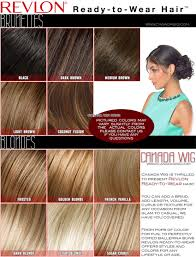 Black Hair Color Chart Wig Hair Color Chart