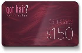 salon gift card gift cards got hair color salon