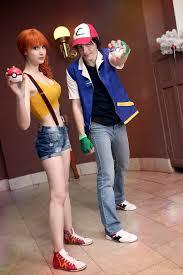 Ash Ketchum Halloween Costume Misty Ash Pokemon Nikki Evans Deviantart Cosplay