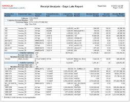 ar report template oracle fusion receivables reports chapter 12 r12