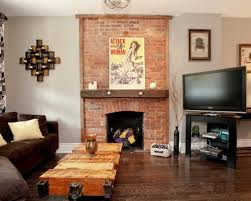How To Decorate A Brick Fireplace Living Room Decorating Ideas Brick Fireplace Aecagra Org