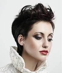 hairstyles short on an angle towards face and back hairstyles for square faces