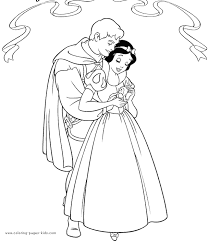 snow white dwarfs coloring pages free printable