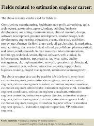 Electrical Engineer Sample Resume by Download Estimation Engineer Sample Resume Haadyaooverbayresort Com