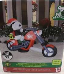Outdoor Snoopy Christmas Decorations Canada by Christmas Inflatable Ebay