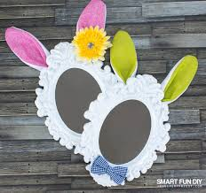 easter bunny ears mirror easter decor for under 7 with the 99
