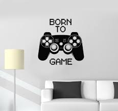 vinyl decal quote video game computer joystick gaming teen boys vinyl decal quote video game computer joystick gaming teen boys room wall stickers ig2752