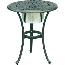 small patio side table small round outdoor table chic outdoor patio side tables small round