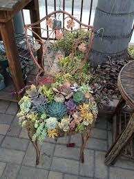 Recycling Garden Ideas 15 Ways To Recycle Your Furniture Into A Fairytale Garden