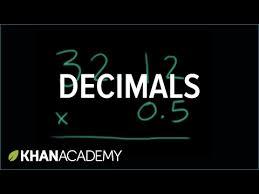 multiplying decimals example video khan academy
