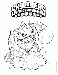 skylanders spyro u0027s adventure coloring pages stealth elf