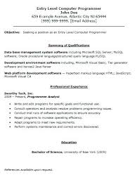 entry level sales resume entry level resume u2013 inssite
