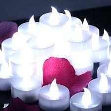 floating tea lights walmart tea lights set of waterproof wedding submersible battery led tea