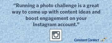 Challenge Instagram How To Run An Instagram Photo Challenge Constant Contact Blogs