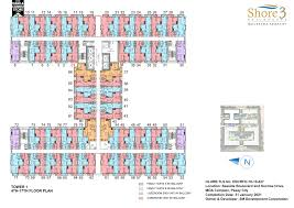 Centralized Floor Plan by Smdc Shore 3 Residences