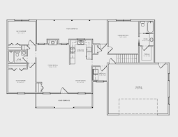 basement amazing one story house plans with basement design