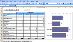 Six Sigma Excel Templates Excel Six Sigma Templates