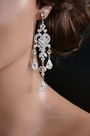 chandelier wedding earrings chandelier wedding earrings swarovski bridal earrings