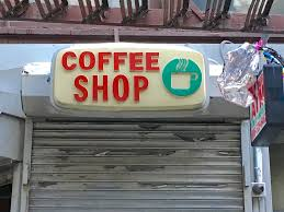 coffee shop in new york vintage signs in new york city ephemeral new york