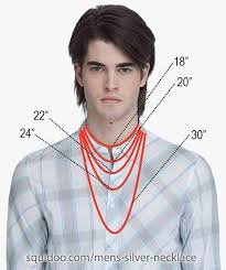 men necklace sizes images Mens necklace lengths beading jewelry tutorials men 39 s jpg
