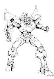 cartoon coloring pages printable transformers super heroes