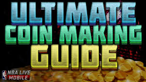 nba live mobile ultimate coin making guide easy u0026 best coin