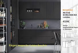 prix de cuisine ikea cuisine ikea élégant images de cuisine ikea prix luisgarcia info