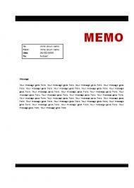 professional memo template word