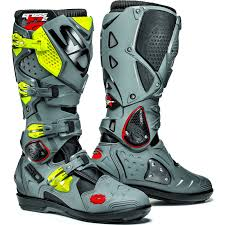 motocross boots 8 sidi crossfire 2 srs motocross boots dirt bike enduro moto x off
