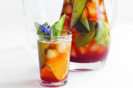 christmas cocktails recipes pomegranate pimms