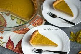 low carb pumpkin pie recipe gluten free low carb yum