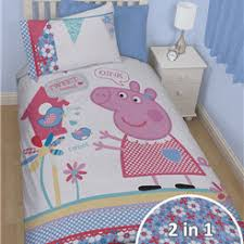 Peppa Pig Single Duvet Set Character Bedding Little Bugs