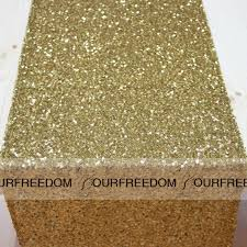 Wholesale Wedding Linens Gold Sequins Table Runer Wholesale Wedding Supplies Custom Made