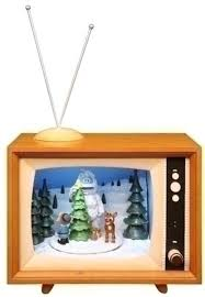 7 musical animated rudolph winter tv box