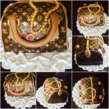 louis vuitton bag cake materials used fondant frosting lv mat