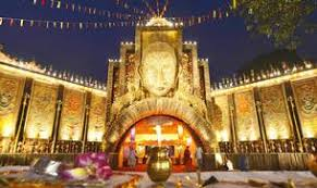 Decoration Of Durga Puja Pandal Delhi Durga Puja Pandals Get Creative To Lure Visitors All You