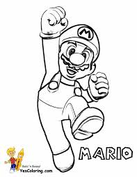 kids coloring pages super mario and color by numbers coloring