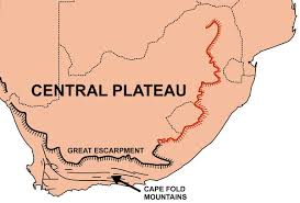 Sub Saharan Africa Map Quiz by Great Escarpment Southern Africa Wikipedia