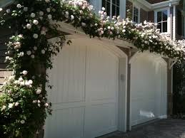 garage with pergola and climbing plants garage pergola for