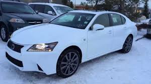 lexus sedan gs new ultra white 2015 lexus gs 350 awd f sport series 2 review