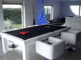 Pool Table And Dining Table by Dining Room Pool Table Youtube