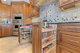 Multi Level Kitchen Island by Stunning Cherry Kitchen Brick New Jersey By Design Line Kitchens