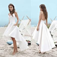 wedding dresses high cheap spaghetti open back high low wedding dresses