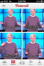 Ellen Degeneres Meme - haha ellen haha pinterest humor memes and random