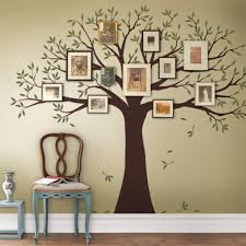 Vinyl Wall Stickers Family Tree Decal Two Colors Wall Decals